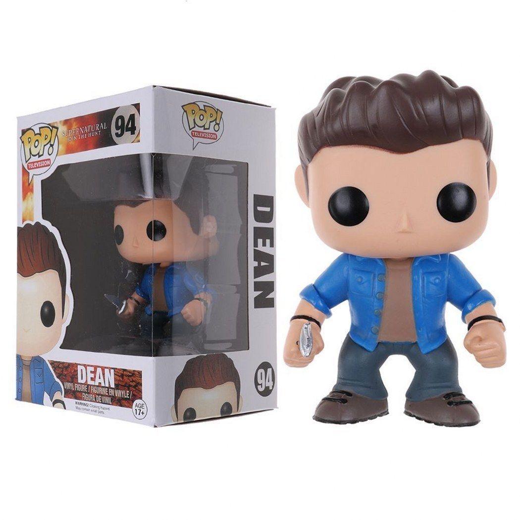 Supernatural Dean Winchester 94 und Castiel mit Wings 95 Figure PLA Funko Pop