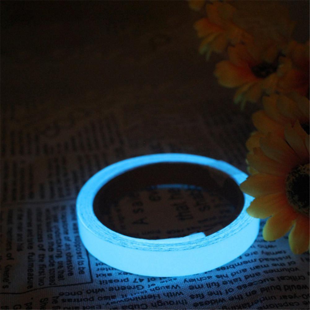 PVC Leucht Folie Nachleuchtend Neon Fluoreszierend Leuchtband Klebe Band
