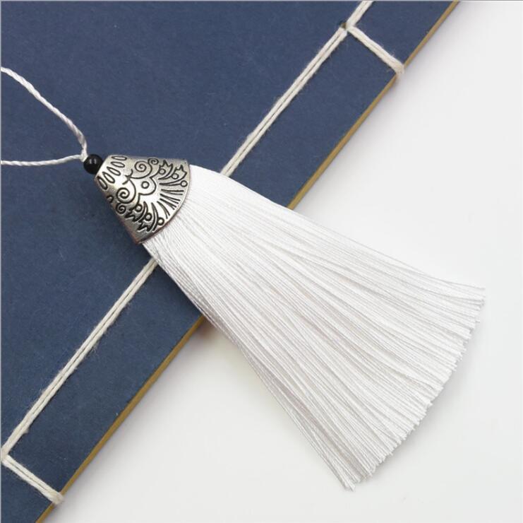 8cm key chian pendants ice silk tassel trim craft keyring jewelry 8cm key chian pendants ice silk tassel trim aloadofball Gallery