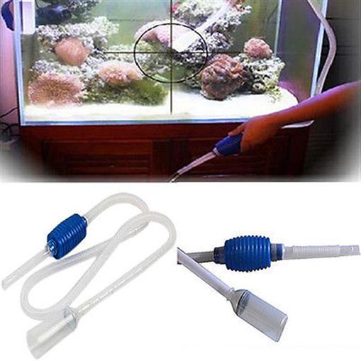 Aquarium siphonreiniger kies wasserwechsel vakuumpumpe ebay for Aquarium wasserwechsel