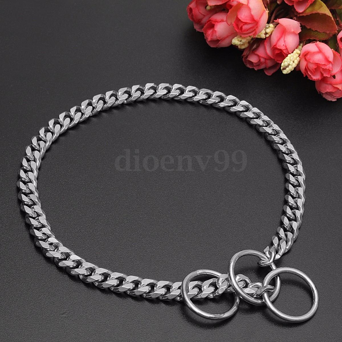 Dog Collar Chain Necklace