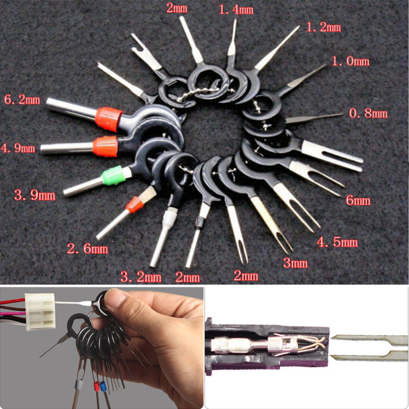 Wondrous Car Wire Harness Plug Terminal Extraction Pick Connector Pin Remove Wiring 101 Breceaxxcnl