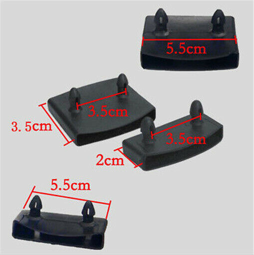 Replacement Bed Slat Plastic Centre And End Caps Holders 54-56mm Wide Black WC