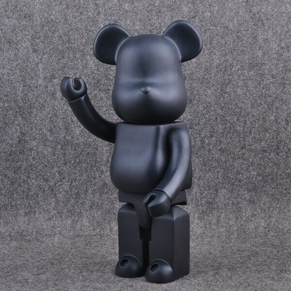 28CM//11In Bearbrick 400/% DIY White PVC Action Figure Toy Be@rbrick Gifts TOYS