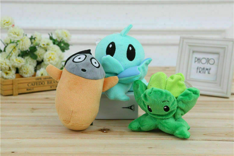 Plants Vs Zombies Figures Plush Staff Toy Stuffed Soft