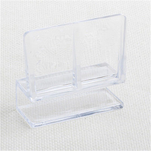 4pcs aquarium fish tank acrylic clips glass cover support for Acrylic vs glass fish tank