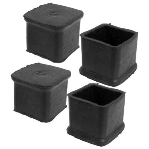 4Pcs//Rubber Protector Caps Anti Scratch Cover for Chair Table Furniture Feet Leg