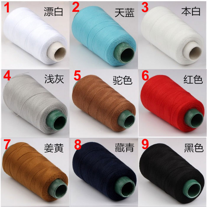 40s40 14000 Yards Jeans Overlocking Sewing Machine Polyester Thick Simple Thick Thread For Sewing Machine