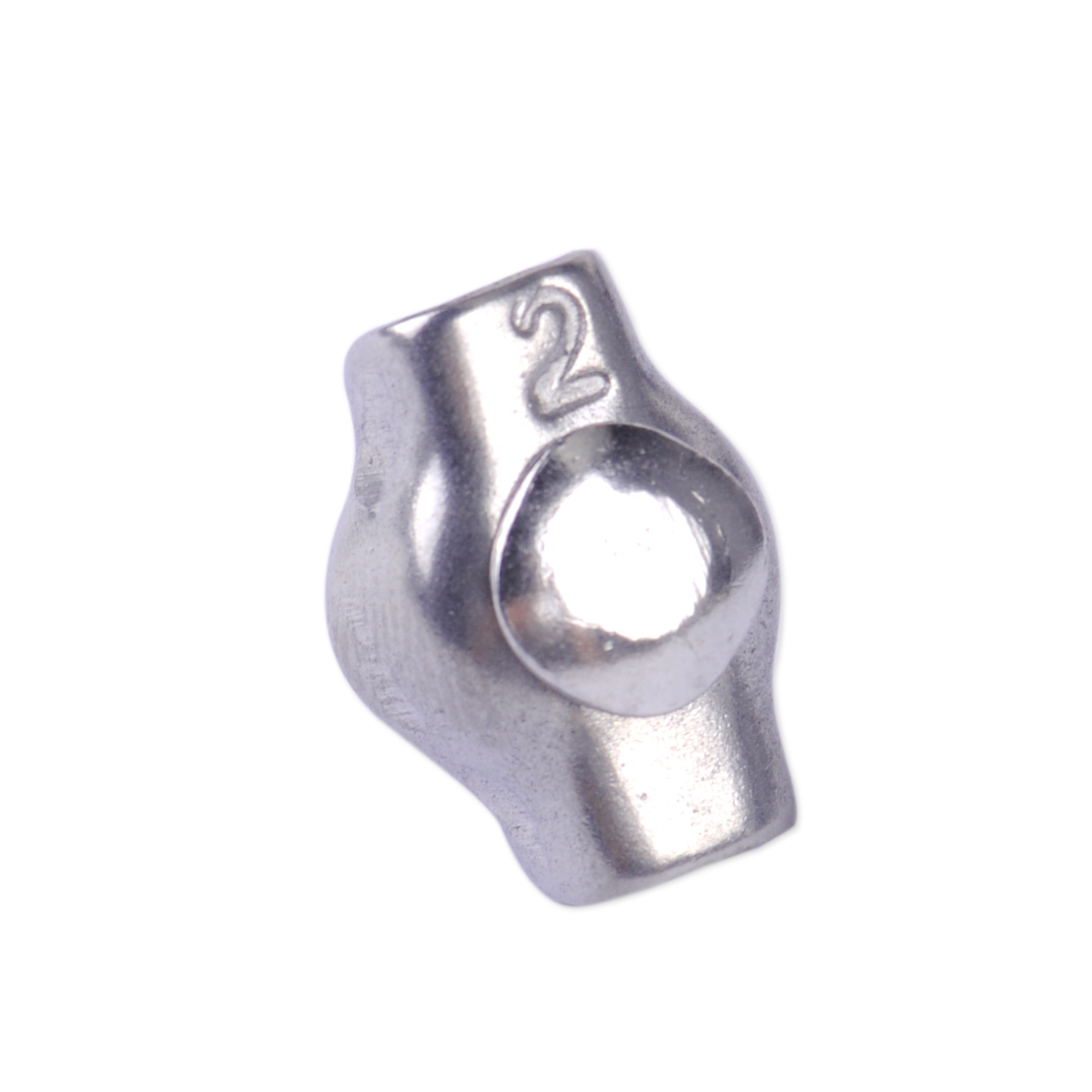 Stainless steel wire rope simplex clip grips cable